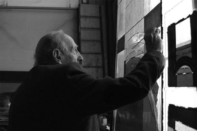 eugenio carmi vetrate lino reduzzi studio reduzzi