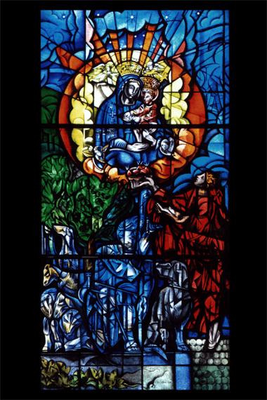 floriano bodini vetrata madonna della castagna lino reduzzi studio reduzzi