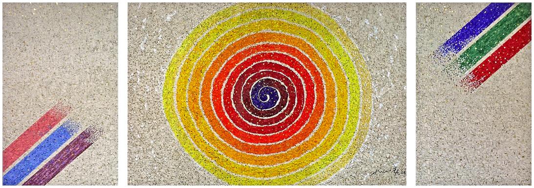 hsiao chin 蕭勤 mosaico lino reduzzi studio reduzzi hsiao chin international art foundation