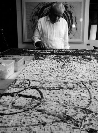 arcangelo mosaico lino reduzzi studio reduzzi