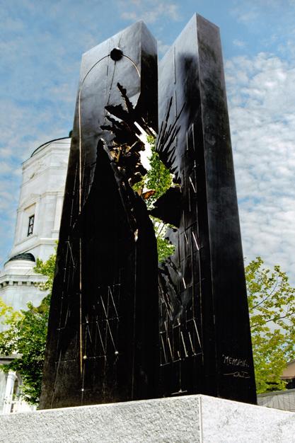 walter valentini memory war memorial saint ambrose square milan italy lino reduzzi studio reduzzi