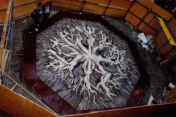 francesco somaini mosaico genova galleria mazzini G8 lino reduzzi studio reduzzi